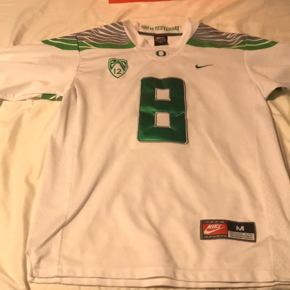 the latest 8092c bc545 Oregon limited Marcus Mariota jersey